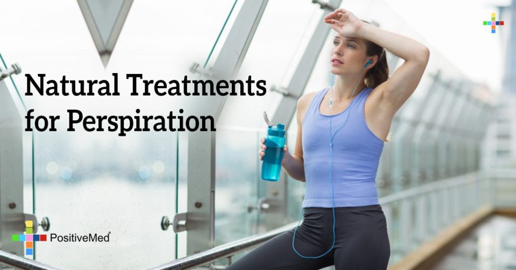 Natural Treatments for Perspiration