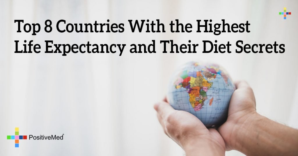 Top 8 Countries With the Highest Life Expectancy and Their Diet Secrets
