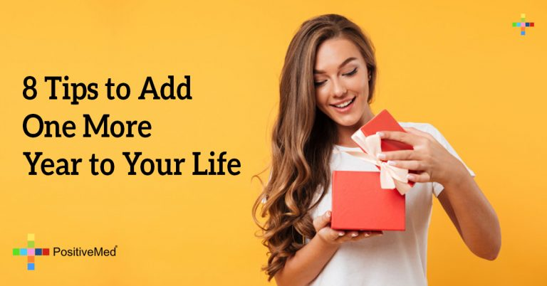 8 Tips to Add One More Year to Your Life