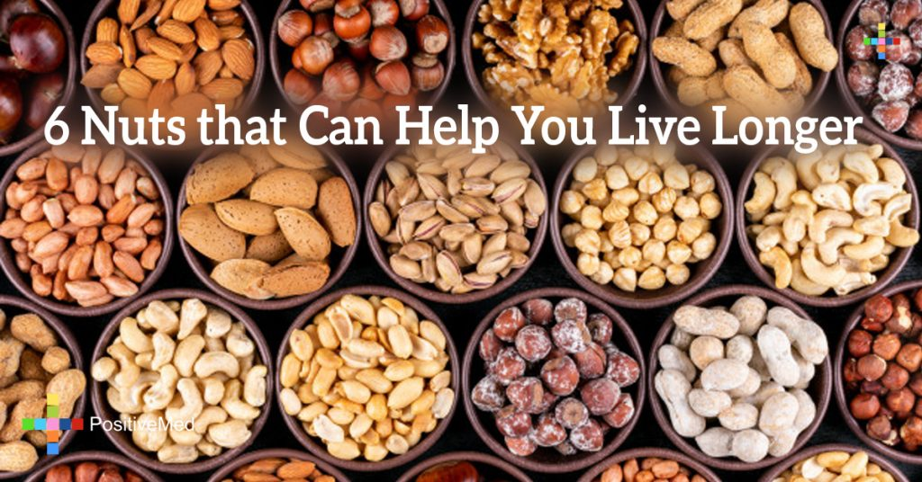 6 Nuts that Can Help You Live Longer