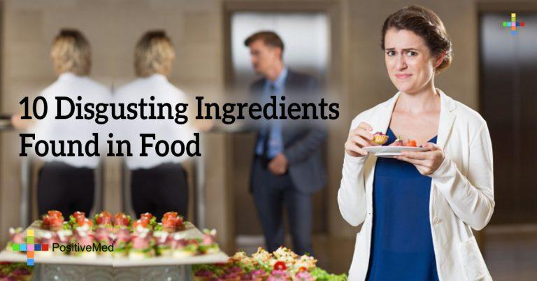 10 Disgusting Ingredients Found in Food