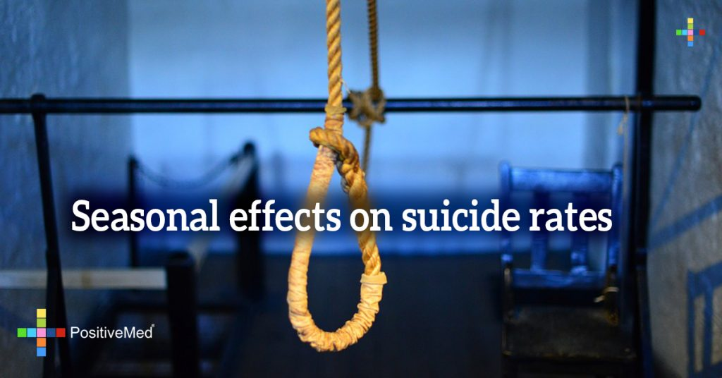 Seasonal effects on suicide rates