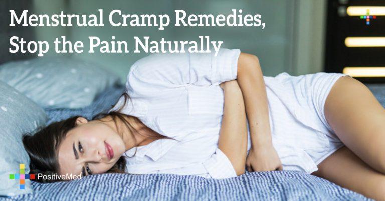 Menstrual Cramp Remedies, Stop the Pain Naturally