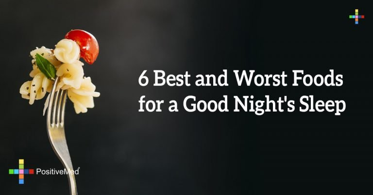 6 Best and Worst Foods for a Good Night's Sleep