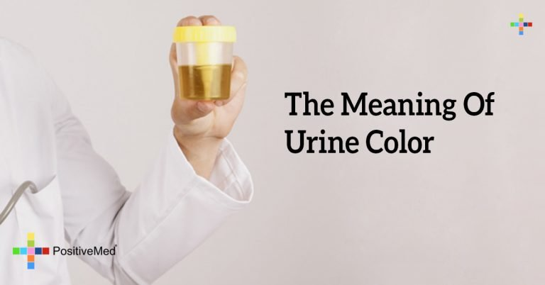 The Meaning Of Urine Color