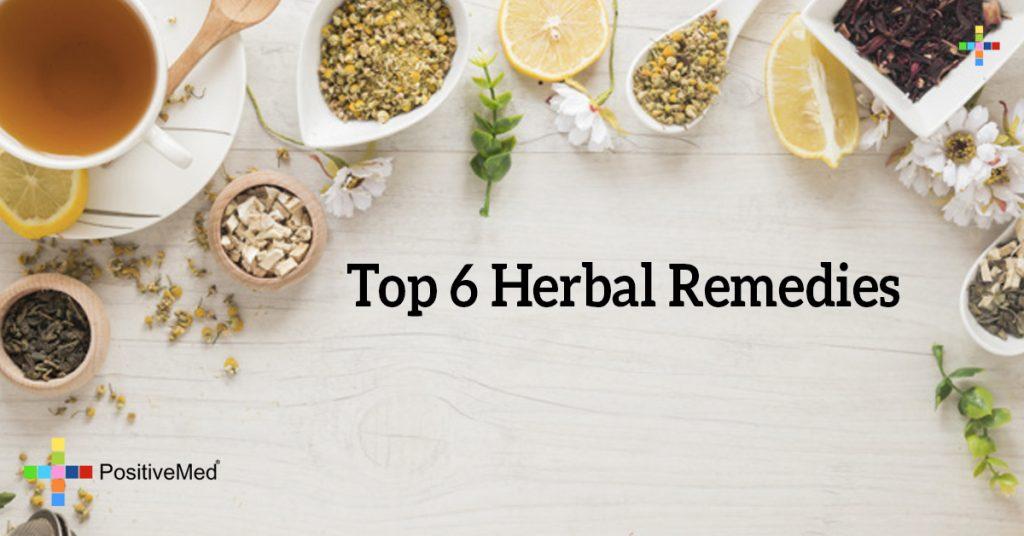 Top 6 Herbal Remedies
