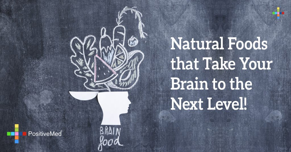 Natural Foods that Take Your Brain to the Next Level!