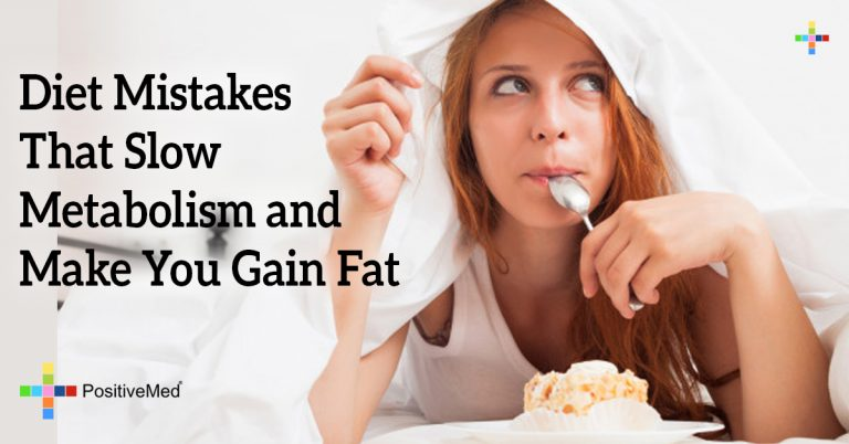 Diet Mistakes That Slow Metabolism and Make You Gain Fat