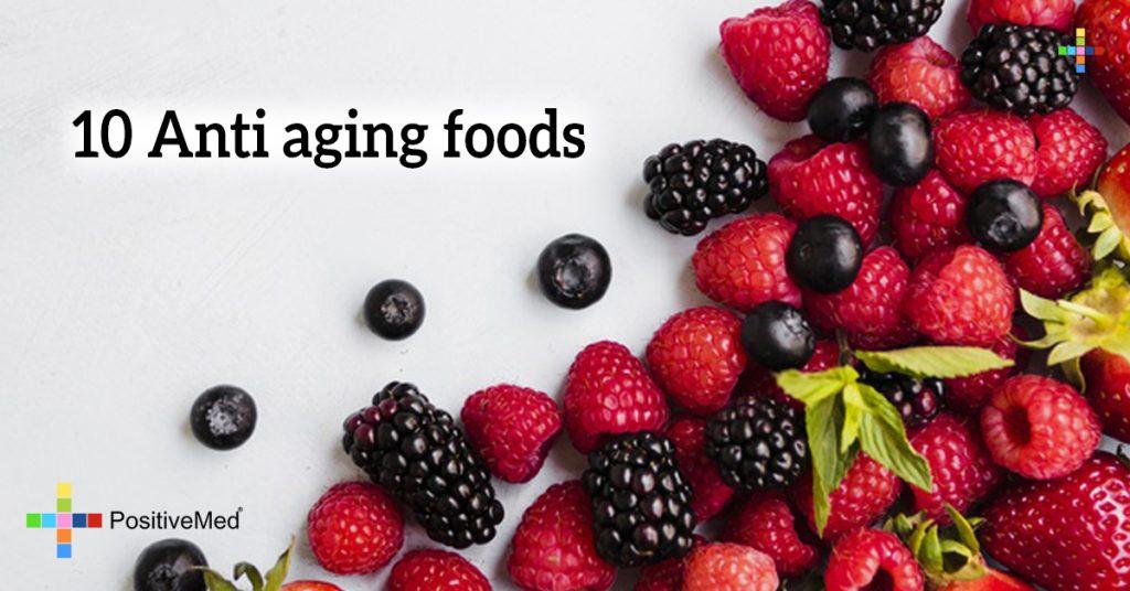 10 Anti aging foods