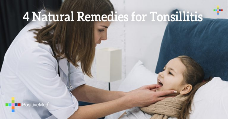 4 Natural Remedies for Tonsillitis