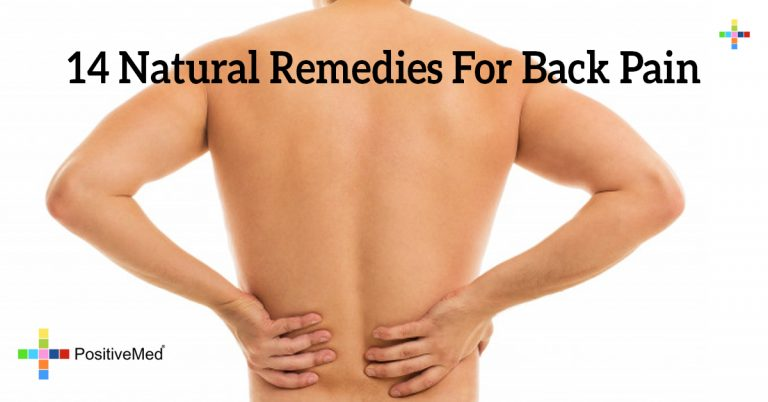 14 Natural Remedies For Back Pain
