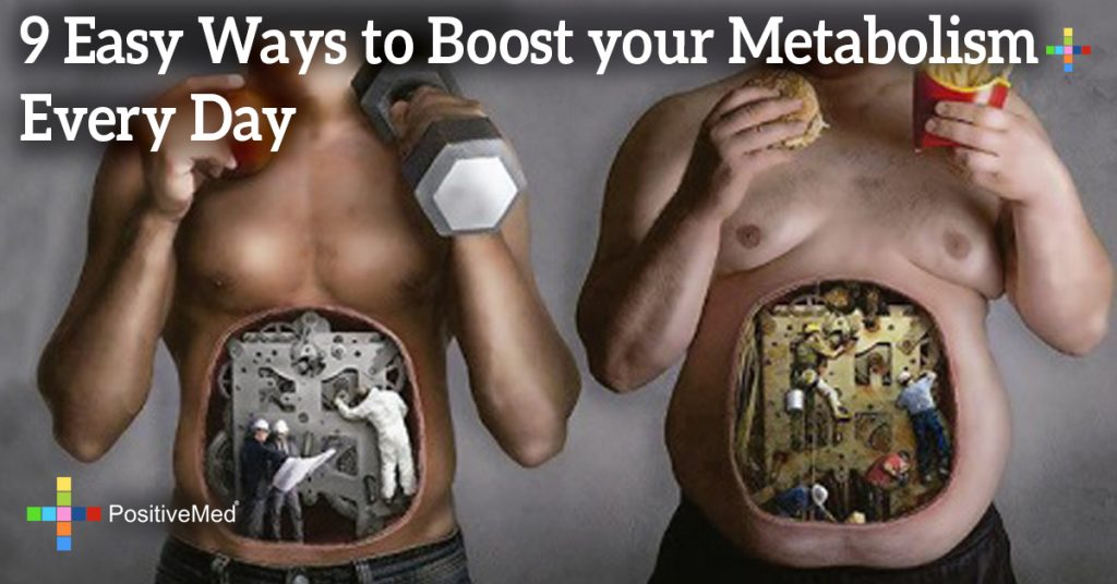 9 Easy Ways to Boost your Metabolism Every Day