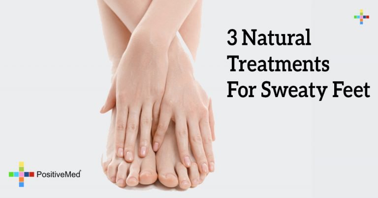 3 Natural Treatments For Sweaty Feet