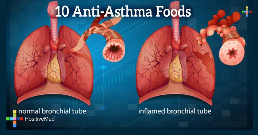 10 Anti-Asthma Foods