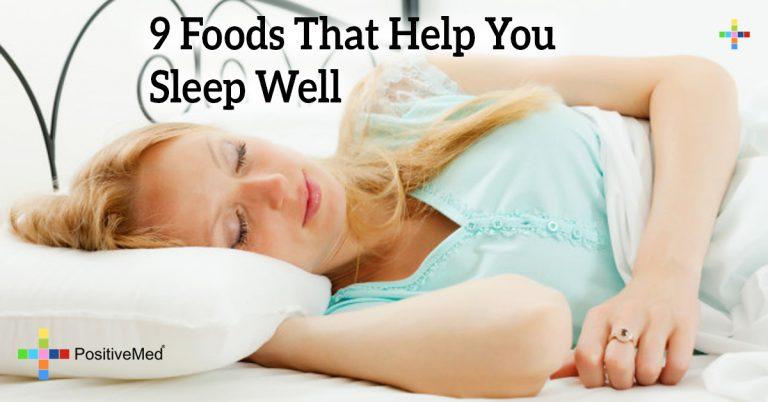 9 Foods That Help You Sleep Well