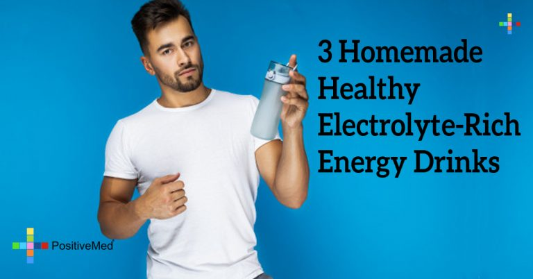3 Homemade Healthy Electrolyte-Rich Energy Drinks