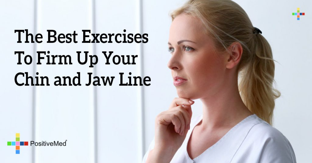 The Best Exercises To Firm Up Your Chin and  Jaw Line