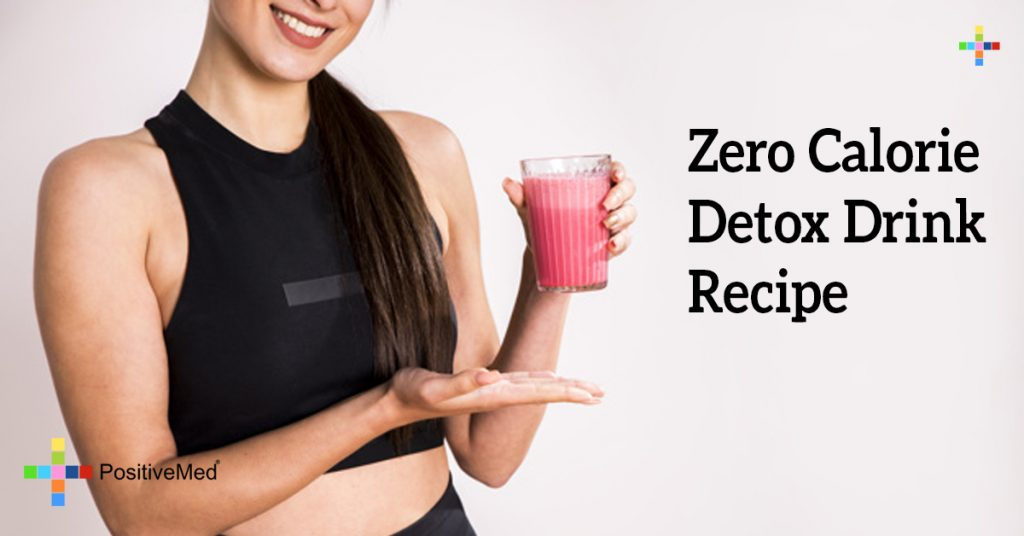 Zero Calorie Detox Drink Recipe