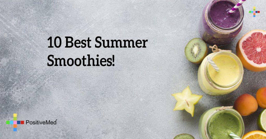 10 Best Summer Smoothies!