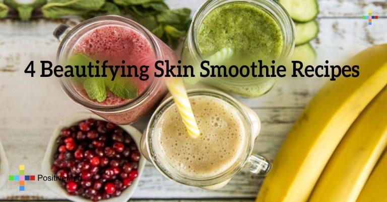 4 Beautifying Skin Smoothie Recipes