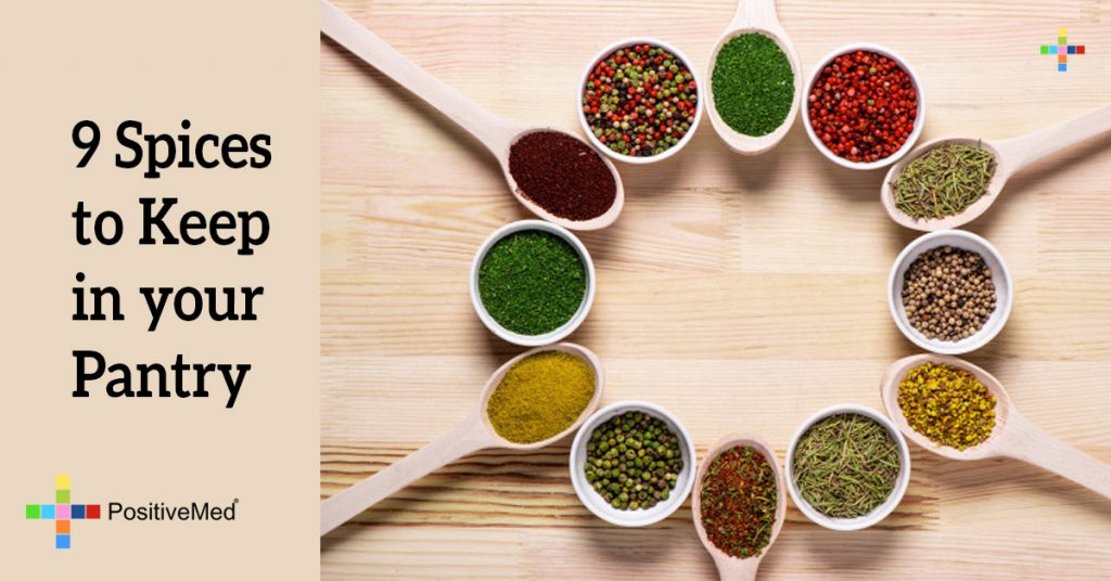 9 Spices to Keep in your Pantry