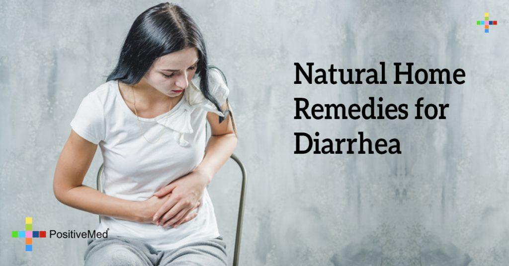 Natural Home Remedies for Diarrhea