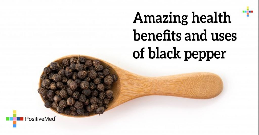 Amazing health benefits and uses of black pepper