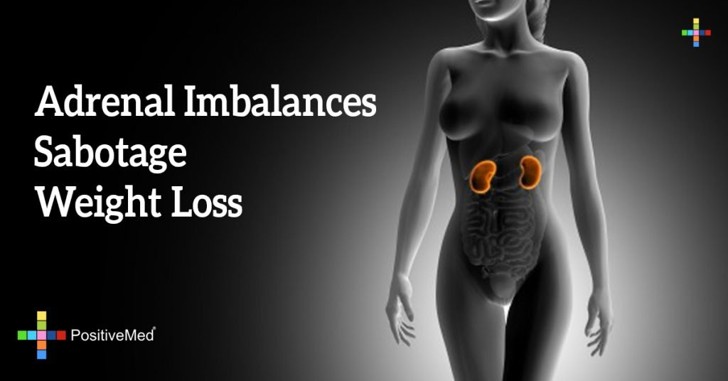 Adrenal Imbalances Sabotage Weight Loss