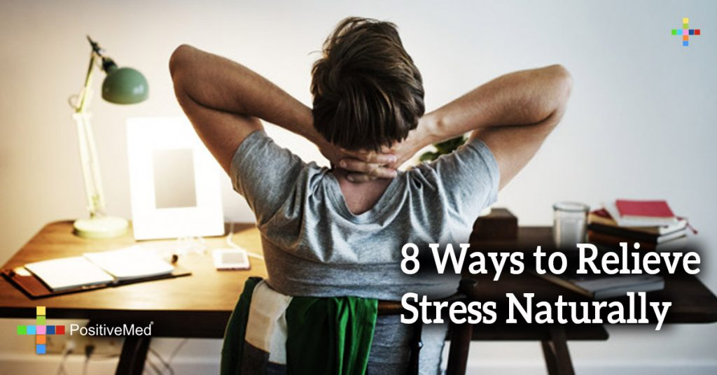 8 Ways to Relieve Stress Naturally