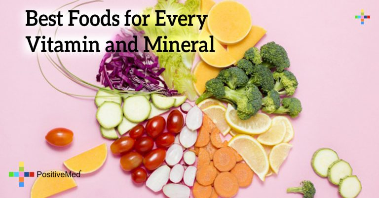 Best Foods for Every Vitamin and Mineral