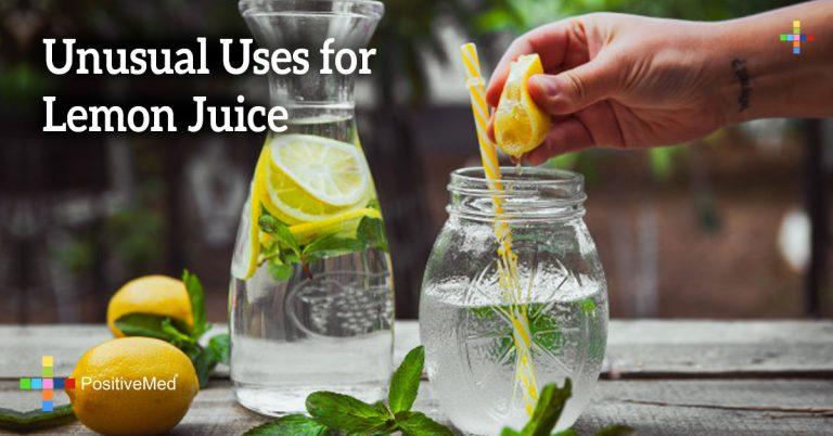 Unusual Uses for Lemon Juice