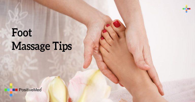 Foot Massage Tips