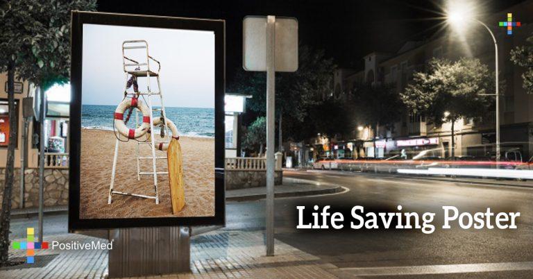 Life Saving Poster