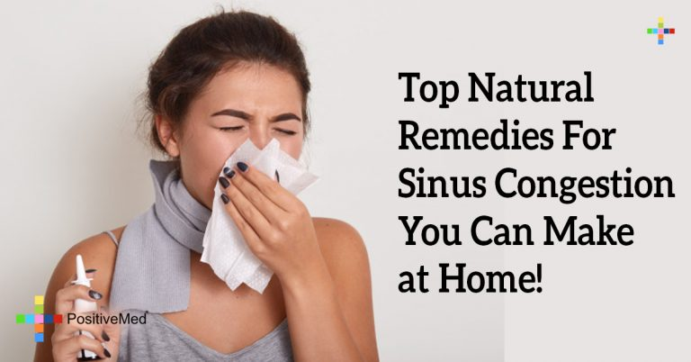 Top Natural Remedies For Sinus Congestion You Can Make at Home!