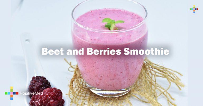 Beet and Berries Smoothie