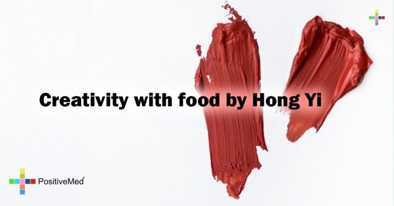 Creativity with food by Hong Yi