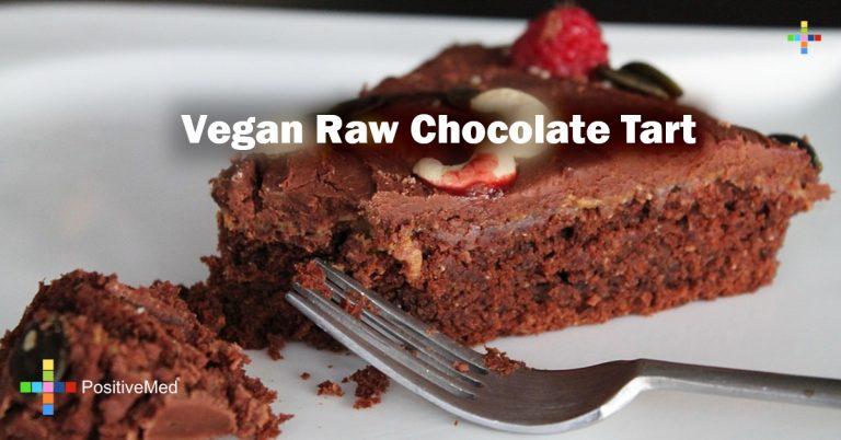 Vegan Raw Chocolate Tart