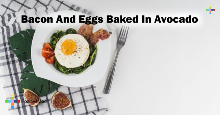 Bacon And Eggs Baked In Avocado