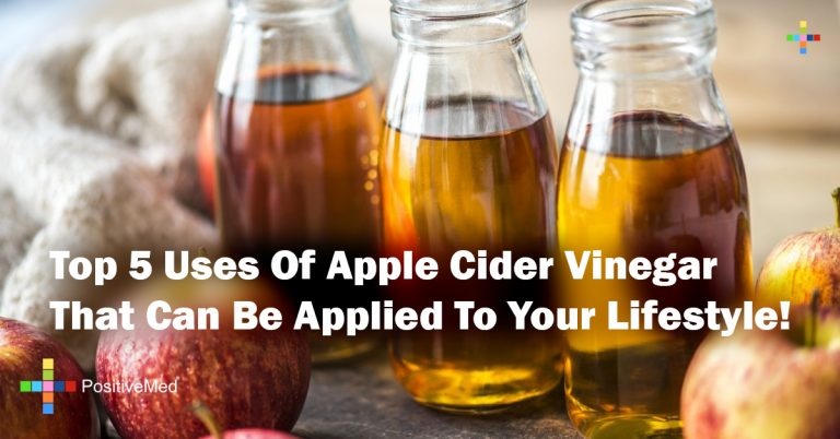 Top 5 Uses Of Apple Cider Vinegar That Can Be Applied To Your Lifestyle!