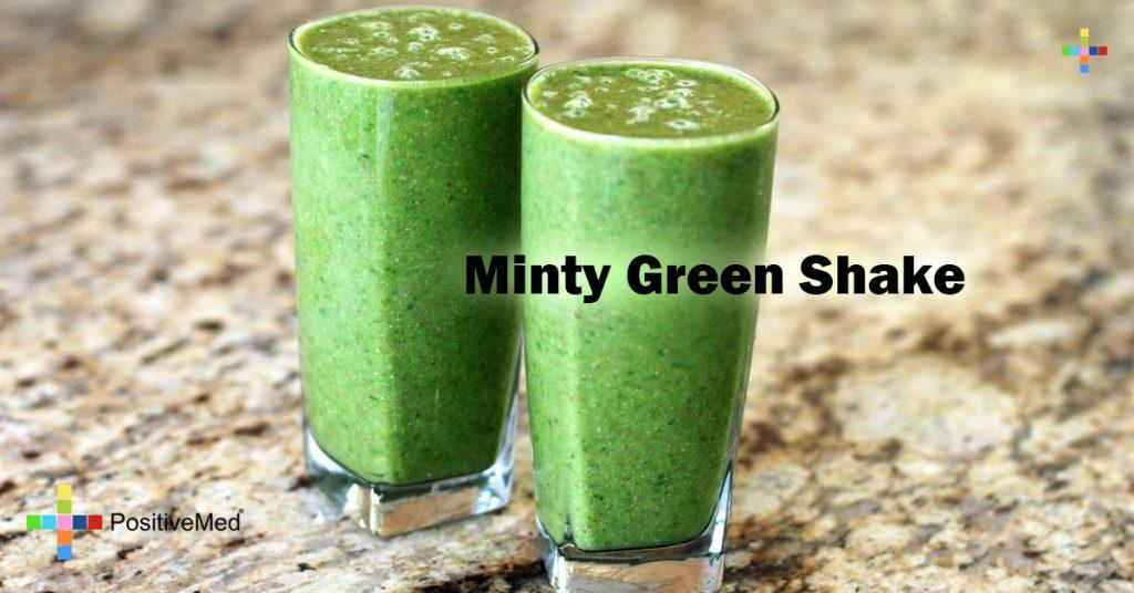 Minty Green Shake