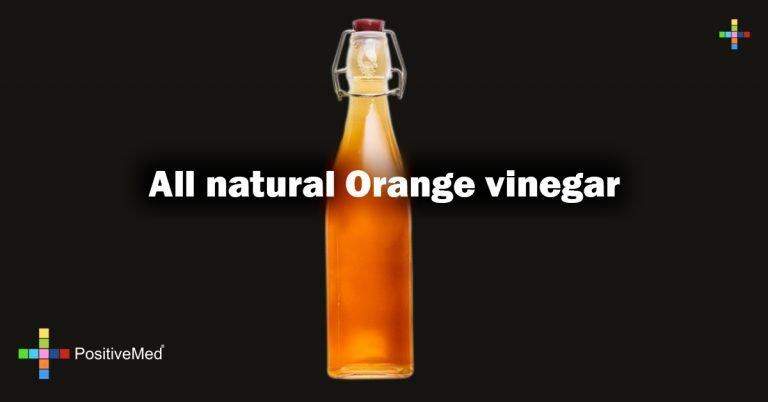 All natural Orange vinegar