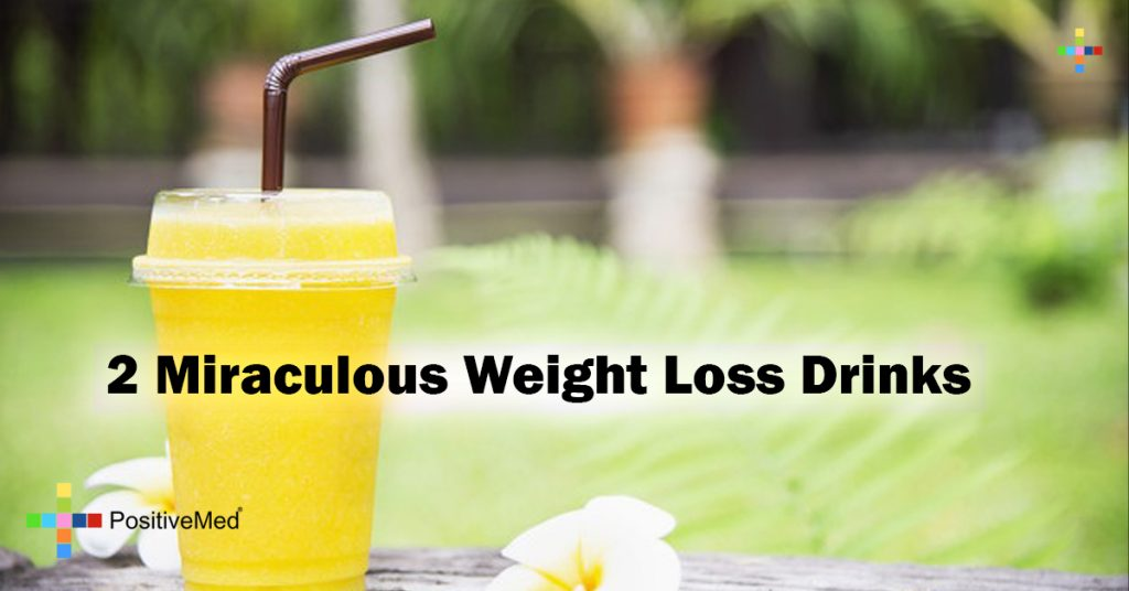 2 Miraculous Weight Loss Drinks