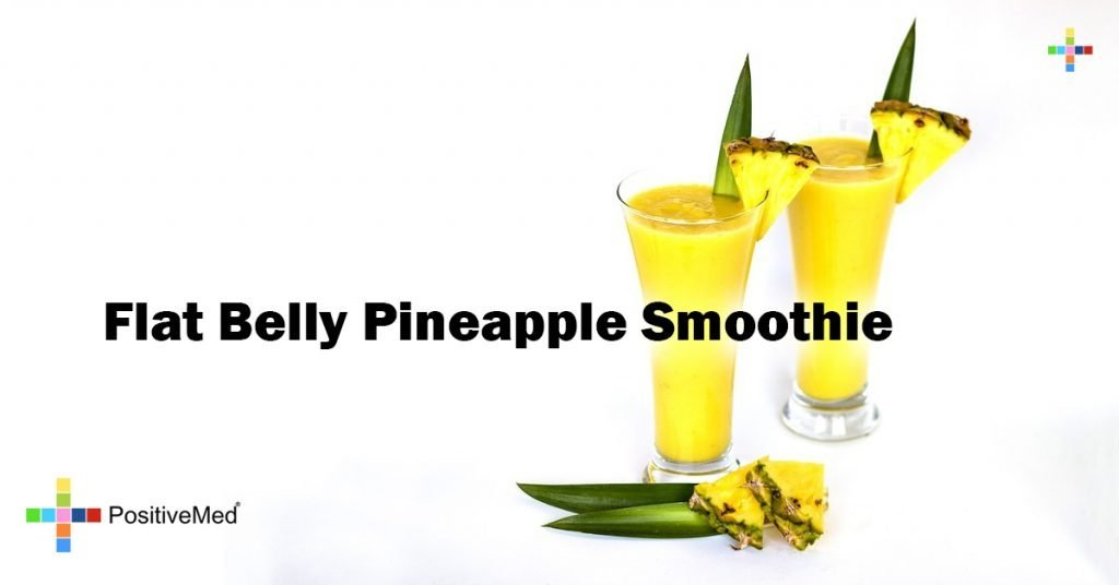 Flat Belly Pineapple Smoothie