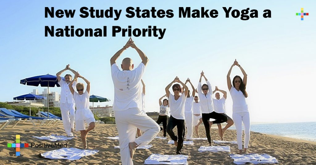 New Study States Make Yoga a National Priority