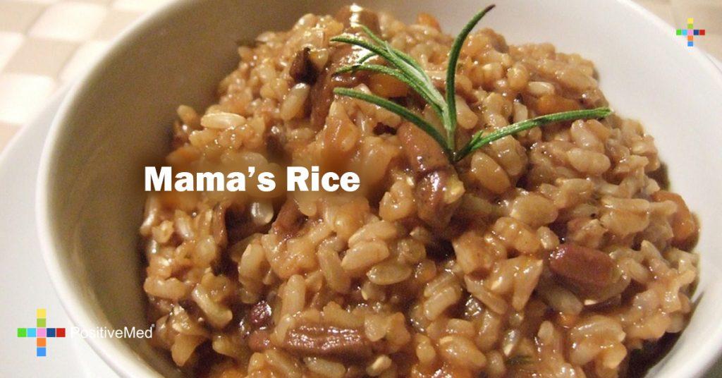 Mama's Rice