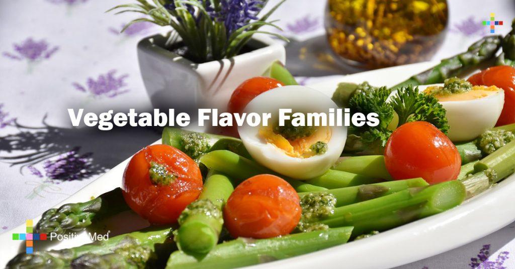 Vegetable Flavor Families