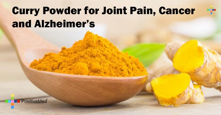 Curry Powder for Joint Pain, Cancer and Alzheimer's