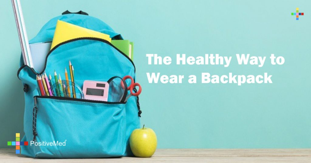 The Healthy Way to Wear a Backpack