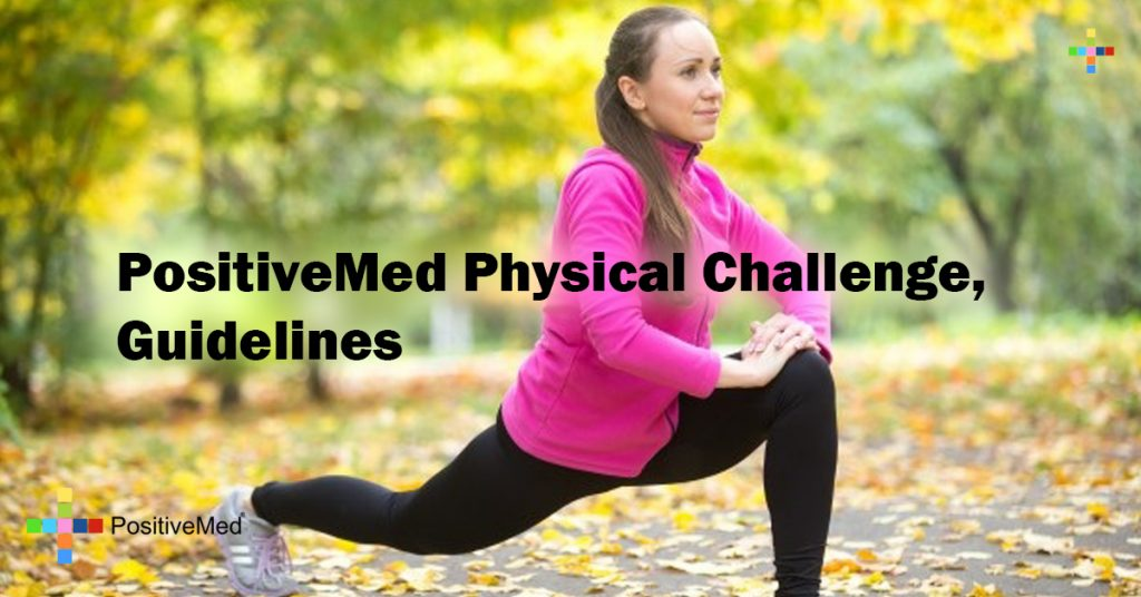 PositiveMed Physical Challenge, Guidelines