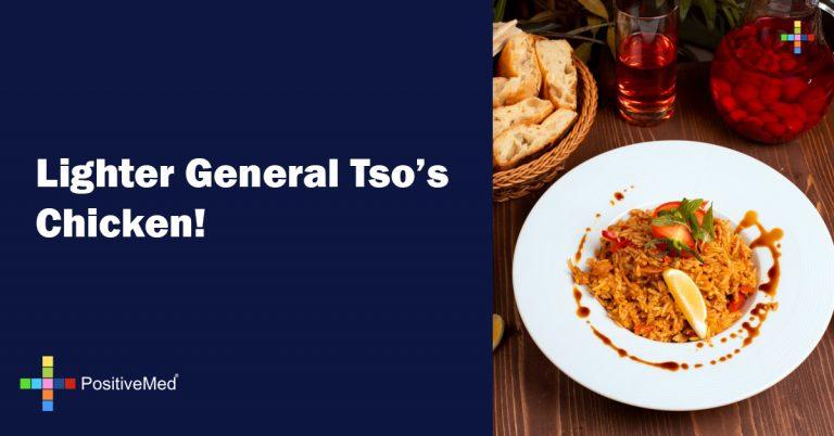 Lighter General Tso's Chicken!